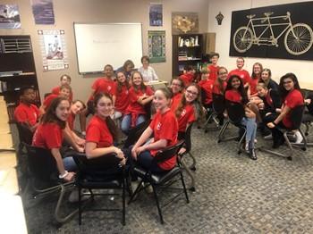 Corvian Community School's COLE Team Competition