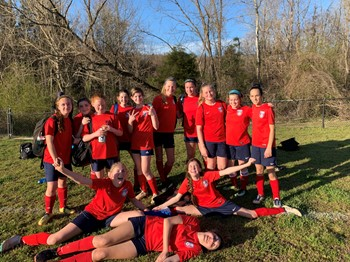 Middle School Girls' Soccer Team