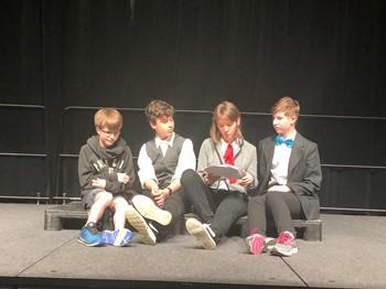 8th-Grade Drama Class