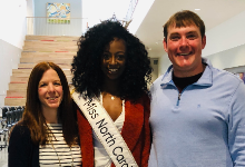 A Visit from Miss North Carolina, Alexandra Badgett