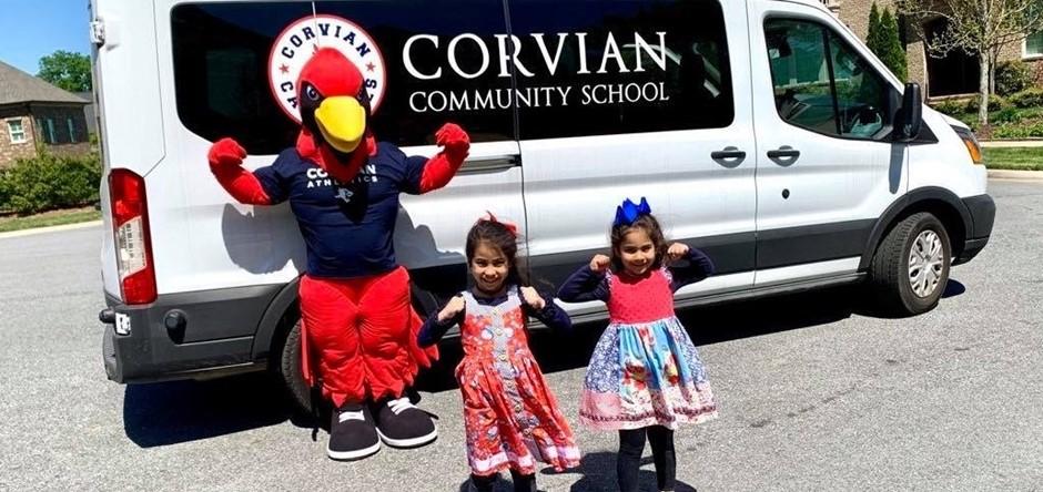 Cardinal and kids
