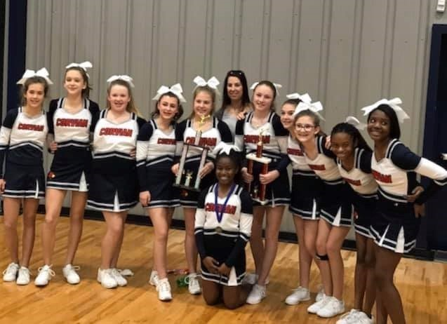 2019 MS Cheer Champs