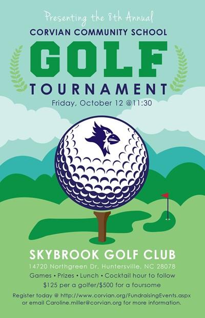 Corvian golf tournament Oct. 12, 2018
