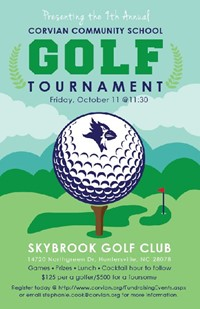Corvian golf tournament Oct. 11, 2019