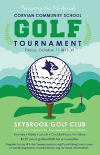 Corvian golf tournament Oct. 11, 2019