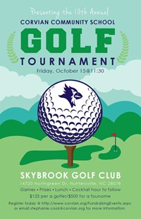 Corvian golf tournament Oct. 15, 2021